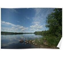 Commanda Lake Poster