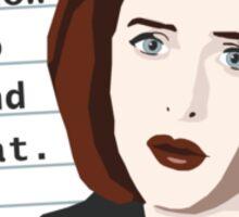 Mulder... Sticker