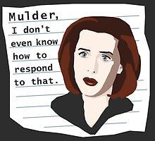 Mulder... by TEWdream