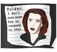 Mulder... Poster
