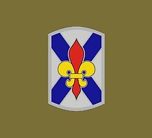 256th Infantry Brigade Combat Team (United States) by wordwidesymbols