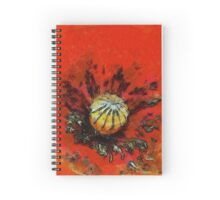 Red Remembrance Spiral Notebook