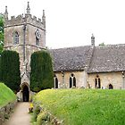 St Peter's Church, Upper Slaughter by GeorgeOne