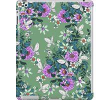 Thea's Garden - green tones iPad Case/Skin