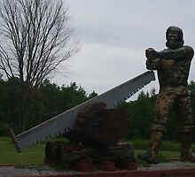 World's Largest Lumberjack by Allen Lucas