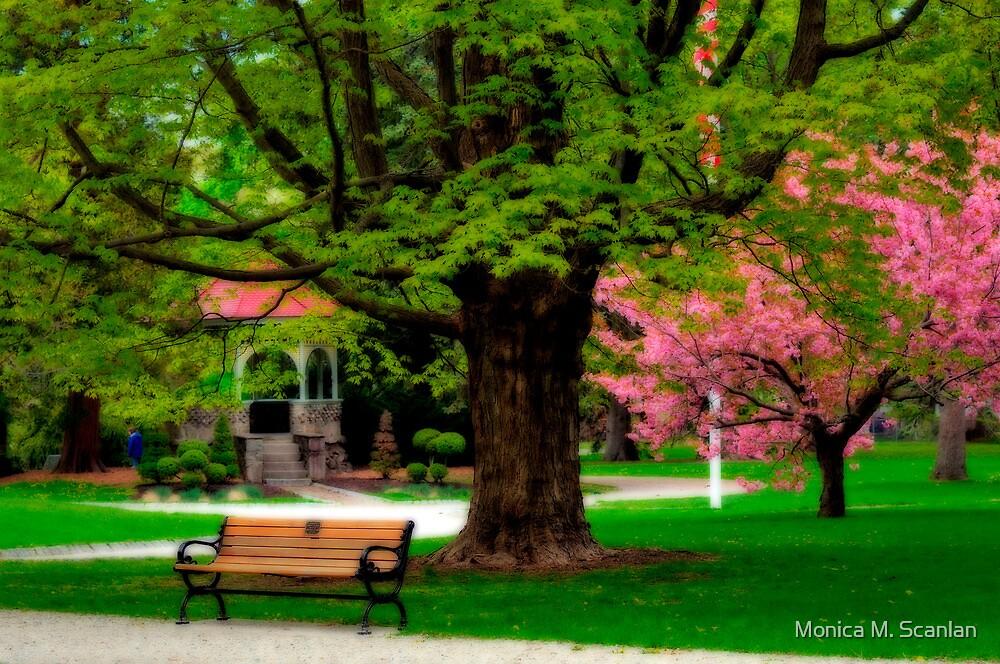 Springtime in Newburyport Park  by Monica M. Scanlan