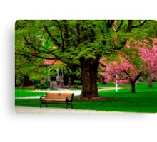 Springtime in Newburyport Park  Canvas Print
