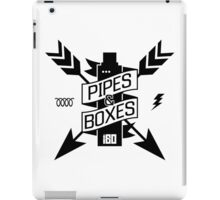 Pipes & Boxes iPad Case/Skin