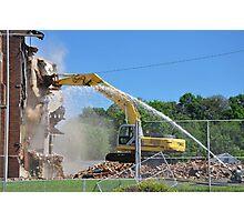 Demolition Day Photographic Print