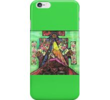 Extended side angle pose iPhone Case/Skin