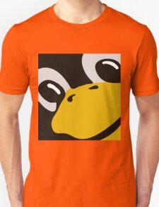 linux tux penguin eyes Unisex T-Shirt