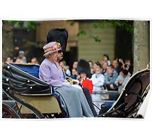 Queen Elizabeth: Queen of The United Kingdom.  Poster