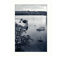 Peace and tranquility. Art Print