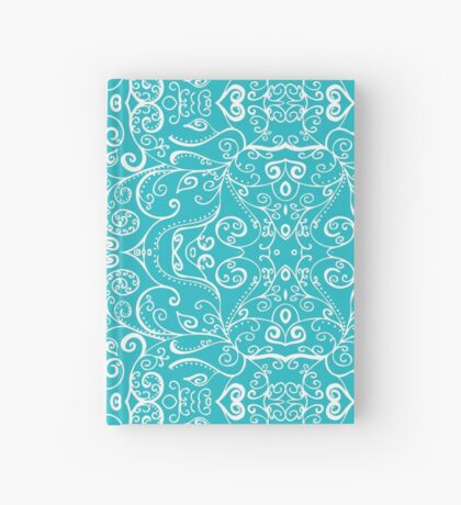 Silent Era, Turquoise Hardcover Journal
