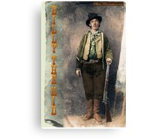 Billy The Kid 2 Canvas Print
