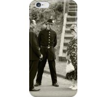 Black Country Police Officer iPhone Case/Skin