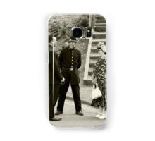 Black Country Police Officer Samsung Galaxy Case/Skin