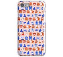 Enemy Bit Print iPhone Case/Skin