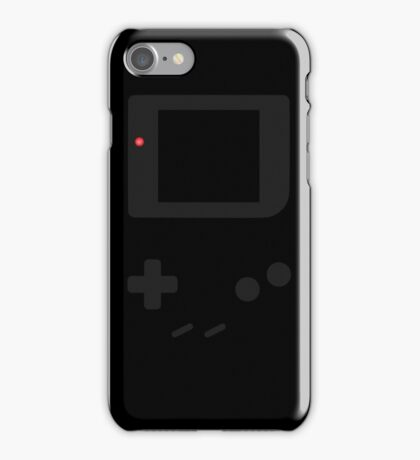 Gameboy black design iPhone Case/Skin