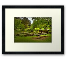 Monet Moment . . . Framed Print