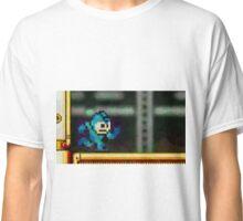 Mega Man retro painted pixel art Classic T-Shirt