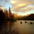 Sunset Lake by soyrwoo