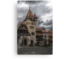 Peles Castle 2, Sinaia, Romania Canvas Print