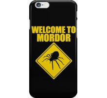 Welcome to Mordor Lord of the Rings iPhone Case/Skin