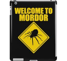 Welcome to Mordor Lord of the Rings iPad Case/Skin