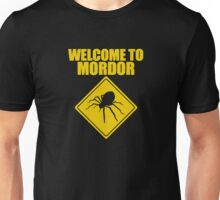 Welcome to Mordor Lord of the Rings Unisex T-Shirt