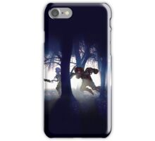 Splatter house pixel art iPhone Case/Skin