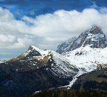 Dolomite Mountains, Italy by VictoriaM