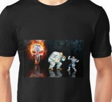 Punisher pixel art Unisex T-Shirt