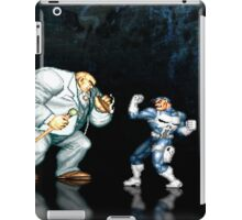 Punisher pixel art iPad Case/Skin
