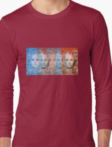 The passage fragment - phases and frequencies Long Sleeve T-Shirt