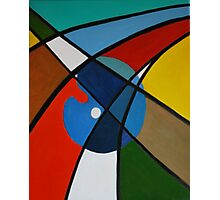 Abstract Roads Photographic Print