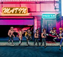 Double Dragon pixel art by smurfted