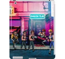 Double Dragon pixel art iPad Case/Skin