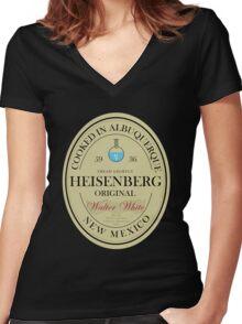 Heisenberg Home Brew Women's Fitted V-Neck T-Shirt