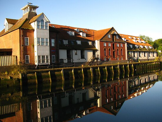 Reflections, Stoke Maltings, Ipswich by wiggyofipswich
