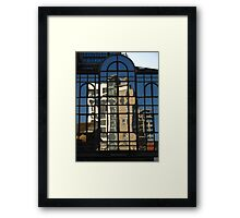 Reflections, Contship Containers Ltd, Ipswich Framed Print
