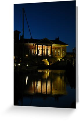 At Night,The Customs House, Ipswich by wiggyofipswich