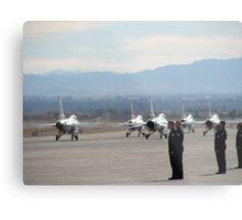 Nellis Air Force Base Metal Print