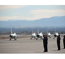 Nellis Air Force Base Photographic Print