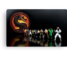 Mortal Kombat pixel art Canvas Print
