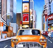 Time Square by Sandro Vivolo