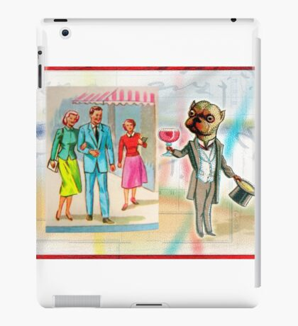 Dapper Dog iPad Case/Skin