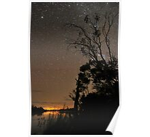 Starry Silhouette Poster