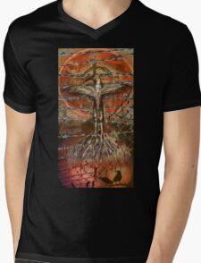 The hurting hidden moon Mens V-Neck T-Shirt