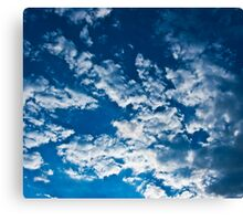 In the Clear Blue Sky. Canvas Print